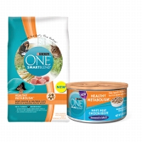 Save $1 on one bag of Purina ONE Dry Cat Food