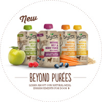 Print a coupon for $1 off two pouches of Purina Beyond Natural Puree for Dogs
