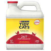 Save $1.05 on one package of Purina Tidy Cats Clumping Litter
