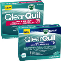 Save $3 on two Vicks QlearQuil products