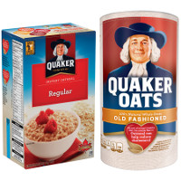 Print a coupon for $1 off two containers of Quaker Instant, Old Fashioned or Quick Oats