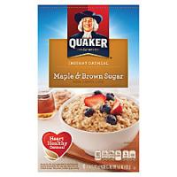 Save $1 on Quaker Select Starts Instant Oatmeal