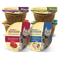 BOGO - Buy three tubs of Rachael Ray Nutrish Wet Cat Food, get one free