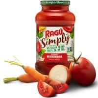 Print a coupon for $0.75 off one jar of Ragu Simply Pasta Sauce