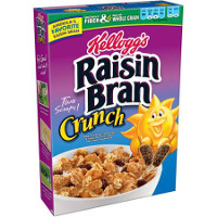 Print a coupon for $1 off two boxes of Kellogg's Raisin Bran Cereal