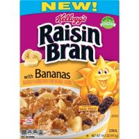 Print a coupon for $0.25 off one Kellogg's Raisin Bran Cereal