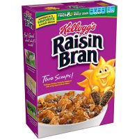 Save $0.50 on a box of Kellogg's Raisin Bran Crunch Cereal