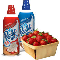 Save $1 when you buy any two cans of Reddi Wip with a container of fresh berries