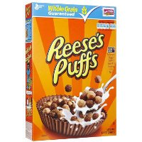 Print a coupon for $0.50 off a box of Reese's Puffs Cereal