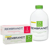 Save $2 on any Rembrandt Whitening Toothpaste or Mouthwash