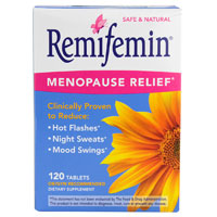 Print a coupon for $4 off one box of Remifemin Menopause Relief product