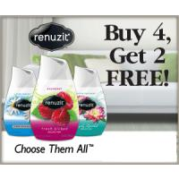 BOGO - buy four Renuzit Adjustable Air Freshener Cones, get two free