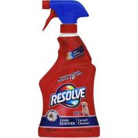 Print a coupon for $0.75 off any Resolve Carpet Pet Stain Remover or Pet High Traffic Foam