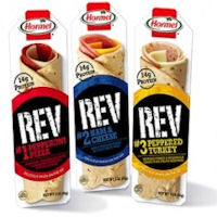 Print a coupon for $0.50 off any Hormel REV product