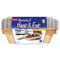 Print a coupon for $1 off Reynolds Disposable Heat + Eat Containers