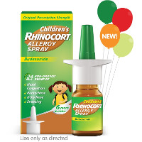 Print a coupon for $6 off Children's RHINOCORT Allergy Spray