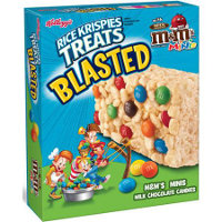 Save $0.50 on one box of Kellogg's Rice Krispies Treats Blasted Crispy Marshmallow Squares