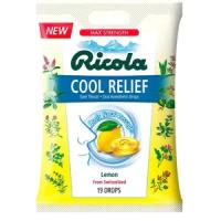 Print a coupon for $0.50 off one bag of Ricola Cool Relief Lemon Frost Drops