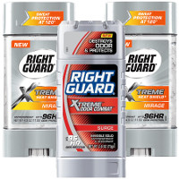 Print a coupon for $2 off two Right Guard Xtreme products