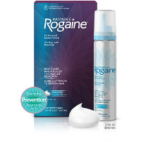 Print a coupon for $5 off any Rogaine Hair Regrowth Treatment product, 2ct. or larger