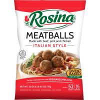 Save $1.50 on one bag of Rosina Meatballs