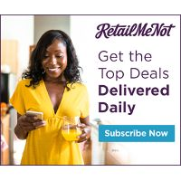 Get some of the Best Online Shopping Deals delivered to your inbox with RetailMeNot.
