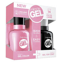 Save $1.50 on Sally Hansen Miracle Gel Color, Top Coat or Value Pack