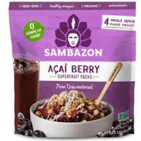 Print a coupon for $1.50 one Sambazon Acai Superfruit Pack