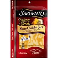 Save $0.55 on any Sargento Sliced Natural Cheese