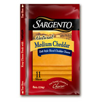 Save 55 cents on Sargento Natural Cheese Slices