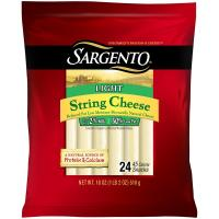 Print a coupon for $1.25 off a two package of Sargento 12 Pack String and or Cheese Snacks