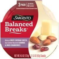Print a coupon for $1 off one package of Sargento Balanced Breaks Snack