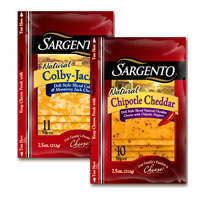 Save 55 cents on any Sargento Natural Cheese Slices