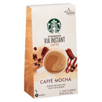 Save $1 on one pack of Starbucks VIA Caffe Mocha