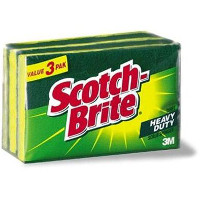 Print a coupon for $0.50 off Scotch-Brite Scrub Sponges, 3-pack or larger