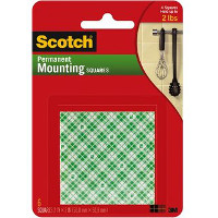 Save $0.50 on one package of Scotch Brand Permanent Mounting Squares