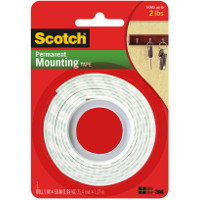 Save $0.50 on one package of Scotch Brand Permanent Mounting Tape