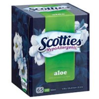 Save $1 on three boxes of Scotties Facial Tissues