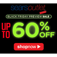 Save up to 60% on home appliances at the Sears Outlet Black Friday Preview Sale!