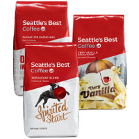Print a coupon for $4 off any three Seattle's Best Whole Bean or Ground Coffees