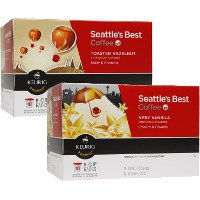 Print a coupon for $2.25 off two boxes of Seattle's Best Coffee K-Cup Pods