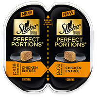 Save $0.50 on one tub of Sheba Perfect Portions