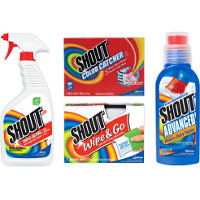Print a coupon for $0.75 off two Shout products