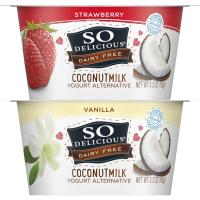 Print a coupon for $1 off any two So Delicious Dairy Free Yogurt Alternatives