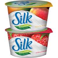 Save $0.75 on any two 5.3 oz cups of Silk Dairy Free Yogurt Alternative