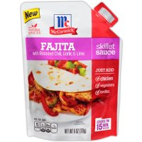 Save $0.75 on New McCormick Skillet Sauces
