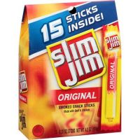 Print a coupon for $0.75 off one Slim Jim Smoked Snack Sticks