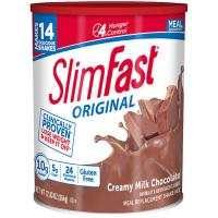 Print a coupon for $2 off any two SlimFast Original 8 pack Ready to Drink Shakes