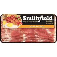Print a coupon for $1 off one package of Smithfield Bacon