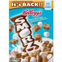 It's Back - Save $0.50 on one box of Kellogg's Smorz Cereal